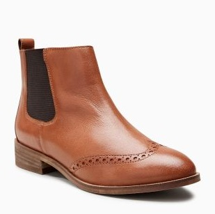 Next - Chelsea Brogue Ankle Boots