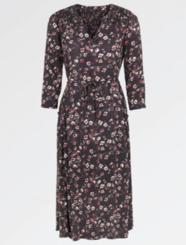 FatFace - Lorna Poppy Meadow Midi Dress
