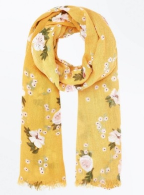 New Look - Floral scarf